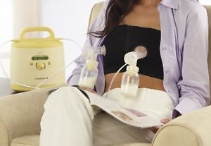 My favorite product when you need to pump often.  Hands-Free Breast pump Bra